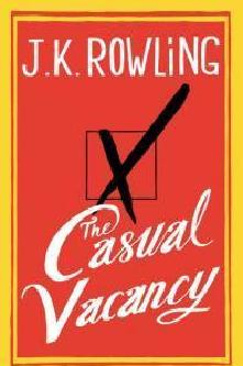 J K Rowling's New Book Cover