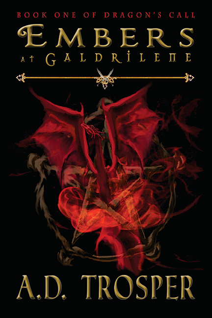 """Get The Re-release Of """"Embers At Galdrilene"""" By A.D. Trosper"""